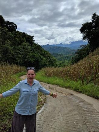 Hiking to Semuc Champey