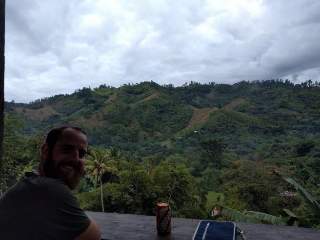 View from El Muro Hostel