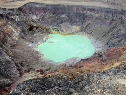Crater Lake Santa Ana Volcano
