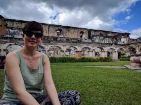 Charlotte at Convento Santa Clara