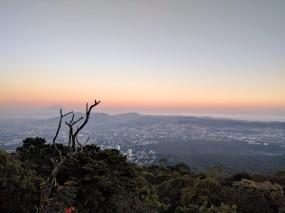 San Salvador from San Salvador Volcano