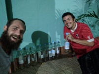 Dan, Kris and all the rum