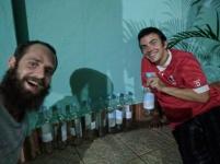 Dan, Kris and all the rum