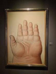 Trump's hand!